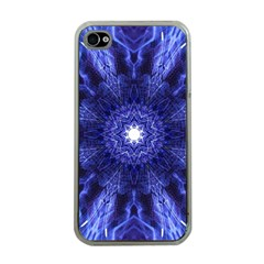 Tech Neon And Glow Backgrounds Psychedelic Art Apple Iphone 4 Case (clear)