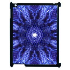 Tech Neon And Glow Backgrounds Psychedelic Art Apple Ipad 2 Case (black)