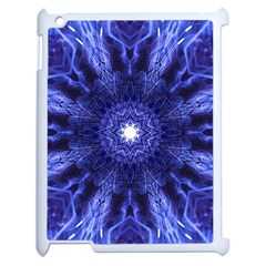 Tech Neon And Glow Backgrounds Psychedelic Art Apple Ipad 2 Case (white)