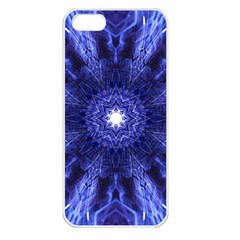 Tech Neon And Glow Backgrounds Psychedelic Art Apple Iphone 5 Seamless Case (white)