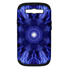 Tech Neon And Glow Backgrounds Psychedelic Art Samsung Galaxy S Iii Hardshell Case (pc+silicone)