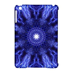 Tech Neon And Glow Backgrounds Psychedelic Art Apple Ipad Mini Hardshell Case (compatible With Smart Cover)
