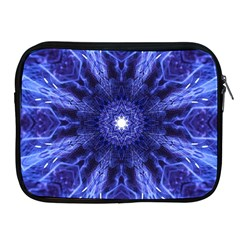 Tech Neon And Glow Backgrounds Psychedelic Art Apple Ipad 2/3/4 Zipper Cases