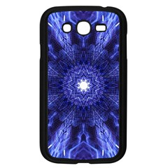 Tech Neon And Glow Backgrounds Psychedelic Art Samsung Galaxy Grand Duos I9082 Case (black)