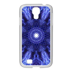 Tech Neon And Glow Backgrounds Psychedelic Art Samsung Galaxy S4 I9500/ I9505 Case (white)