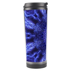 Tech Neon And Glow Backgrounds Psychedelic Art Travel Tumbler