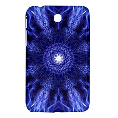 Tech Neon And Glow Backgrounds Psychedelic Art Samsung Galaxy Tab 3 (7 ) P3200 Hardshell Case