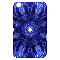 Tech Neon And Glow Backgrounds Psychedelic Art Samsung Galaxy Tab 3 (8 ) T3100 Hardshell Case