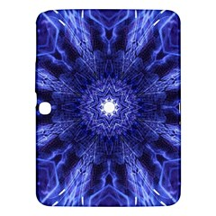 Tech Neon And Glow Backgrounds Psychedelic Art Samsung Galaxy Tab 3 (10 1 ) P5200 Hardshell Case