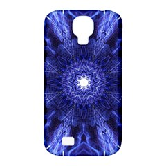 Tech Neon And Glow Backgrounds Psychedelic Art Samsung Galaxy S4 Classic Hardshell Case (pc+silicone)