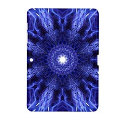 Tech Neon And Glow Backgrounds Psychedelic Art Samsung Galaxy Tab 2 (10 1 ) P5100 Hardshell Case