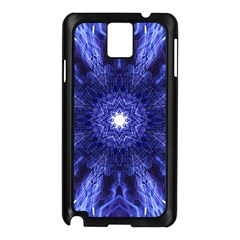 Tech Neon And Glow Backgrounds Psychedelic Art Samsung Galaxy Note 3 N9005 Case (black)