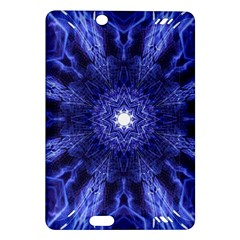 Tech Neon And Glow Backgrounds Psychedelic Art Amazon Kindle Fire Hd (2013) Hardshell Case