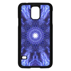 Tech Neon And Glow Backgrounds Psychedelic Art Samsung Galaxy S5 Case (black)