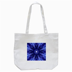 Tech Neon And Glow Backgrounds Psychedelic Art Tote Bag (white)