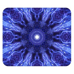 Tech Neon And Glow Backgrounds Psychedelic Art Double Sided Flano Blanket (small)