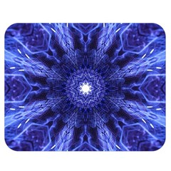 Tech Neon And Glow Backgrounds Psychedelic Art Double Sided Flano Blanket (medium)