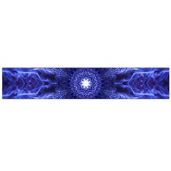 Tech Neon And Glow Backgrounds Psychedelic Art Flano Scarf (Large)