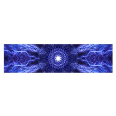 Tech Neon And Glow Backgrounds Psychedelic Art Satin Scarf (oblong)