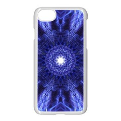 Tech Neon And Glow Backgrounds Psychedelic Art Apple Iphone 7 Seamless Case (white)