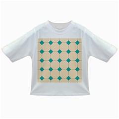 Tile Pattern Wallpaper Background Infant/Toddler T-Shirts