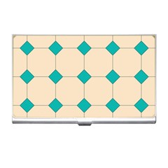 Tile Pattern Wallpaper Background Business Card Holders
