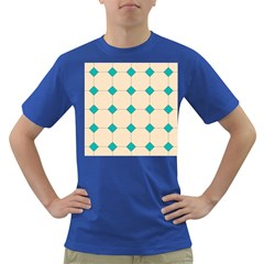 Tile Pattern Wallpaper Background Dark T Shirt
