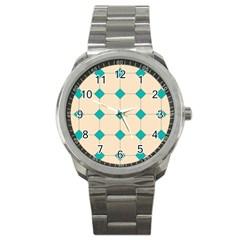 Tile Pattern Wallpaper Background Sport Metal Watch