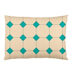 Tile Pattern Wallpaper Background Pillow Case