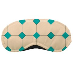 Tile Pattern Wallpaper Background Sleeping Masks