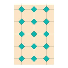 Tile Pattern Wallpaper Background Shower Curtain 48  X 72  (small)