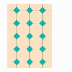 Tile Pattern Wallpaper Background Small Garden Flag (two Sides)