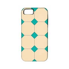 Tile Pattern Wallpaper Background Apple Iphone 5 Classic Hardshell Case (pc+silicone)