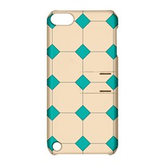 Tile Pattern Wallpaper Background Apple Ipod Touch 5 Hardshell Case With Stand