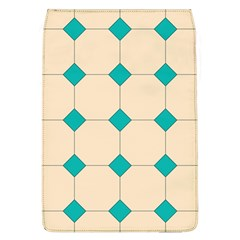 Tile Pattern Wallpaper Background Flap Covers (l)