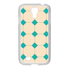 Tile Pattern Wallpaper Background Samsung Galaxy S4 I9500/ I9505 Case (white)