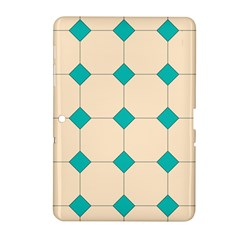 Tile Pattern Wallpaper Background Samsung Galaxy Tab 2 (10 1 ) P5100 Hardshell Case