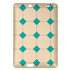 Tile Pattern Wallpaper Background Amazon Kindle Fire Hd (2013) Hardshell Case