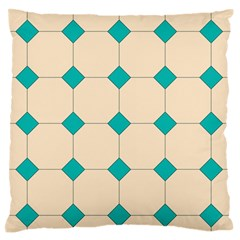 Tile Pattern Wallpaper Background Large Flano Cushion Case (two Sides)