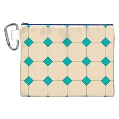 Tile Pattern Wallpaper Background Canvas Cosmetic Bag (xxl)