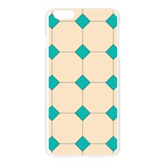 Tile Pattern Wallpaper Background Apple Seamless iPhone 6 Plus/6S Plus Case (Transparent)