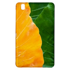 Wet Yellow And Green Leaves Abstract Pattern Samsung Galaxy Tab Pro 8 4 Hardshell Case