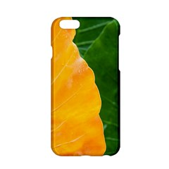 Wet Yellow And Green Leaves Abstract Pattern Apple Iphone 6/6s Hardshell Case