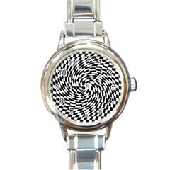 Whirl Round Italian Charm Watch