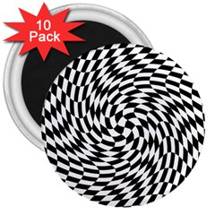 Whirl 3  Magnets (10 Pack)