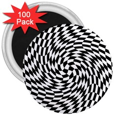 Whirl 3  Magnets (100 Pack)