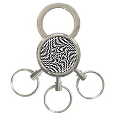 Whirl 3 Ring Key Chains