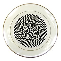 Whirl Porcelain Plates