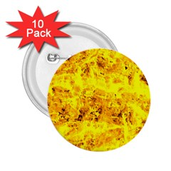 Yellow Abstract Background 2 25  Buttons (10 Pack)