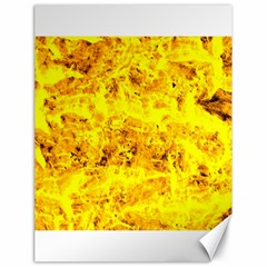 Yellow Abstract Background Canvas 18  X 24